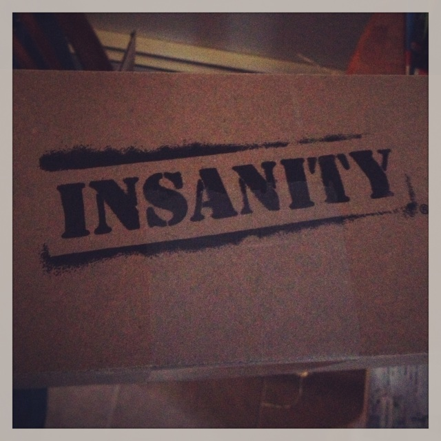 Insanity is in the house.
