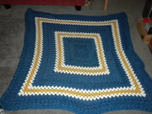 One of the many blankets I've made - back in 09/10.