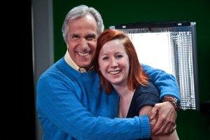 Emily LOVES Henry Winkler :)